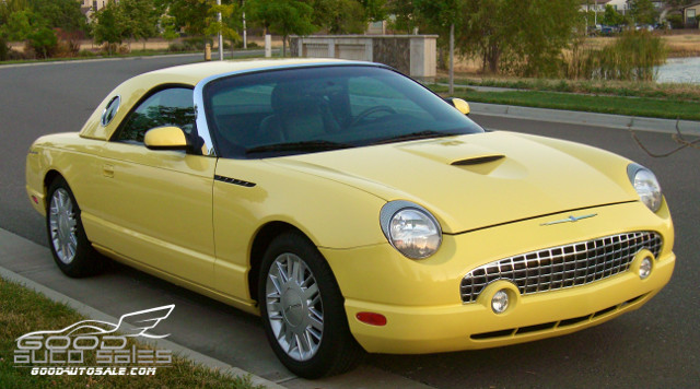 2002 ford thunderbird base convertible 2 door. Black Bedroom Furniture Sets. Home Design Ideas