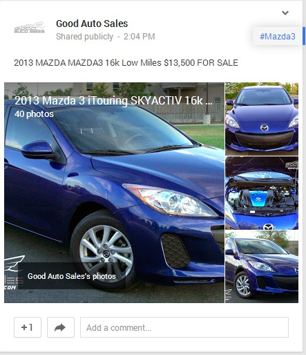 Used Mazda 3 Hatchback Manual: Purchase Used 2013 Mazda 3 I-Touring 4Door Blue, 16K MILES